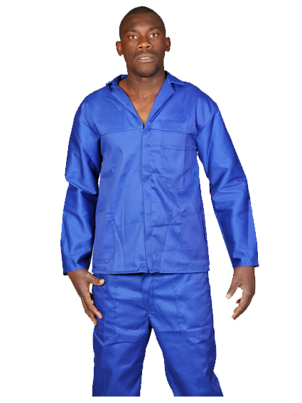 2PC OVERALLS ROYAL BLUE
